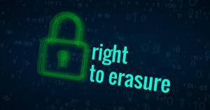 Right to erasure