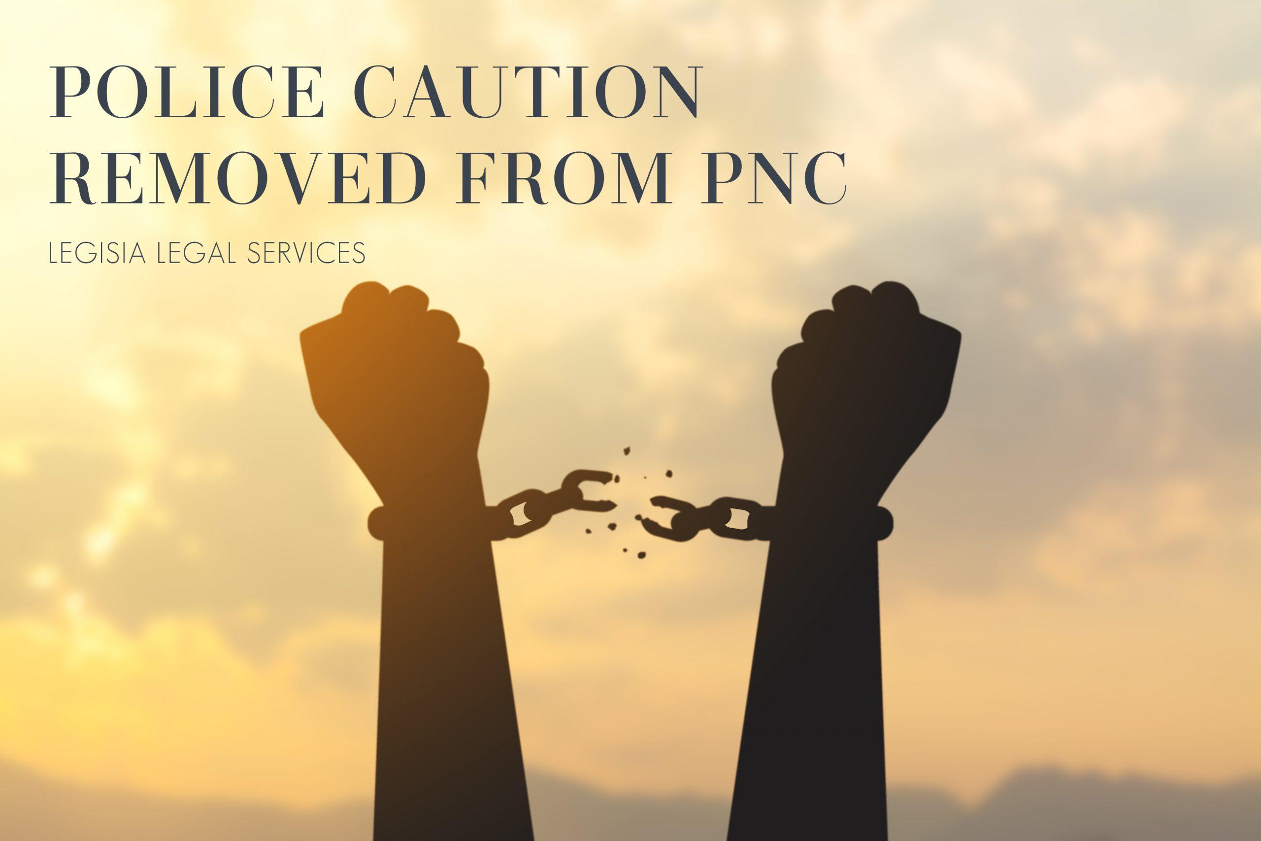 Police Caution Break Free