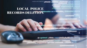local police records deletions