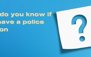 How do you know if you have a police caution