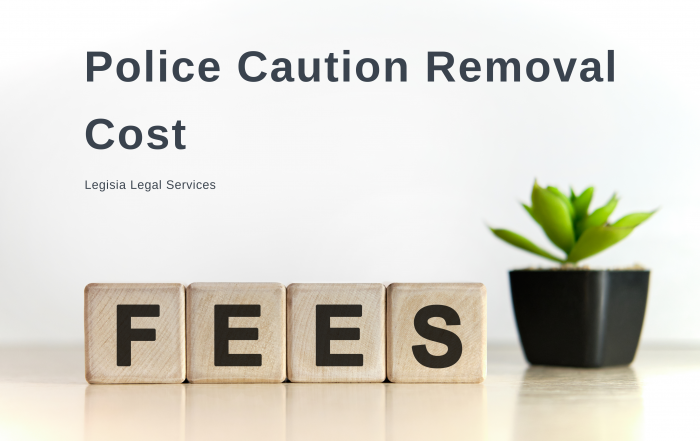 Police Caution Removal Cost